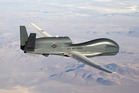 Global Hawk drones similar to this have crossed NZ airspace as they move between Australia and the US. Photo / Supplied