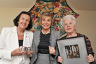 Dames Rosanne Meo (left), Rosie Horton (centre) and Cath Tizard say the work of the hospice is vital. Photo / Supplied