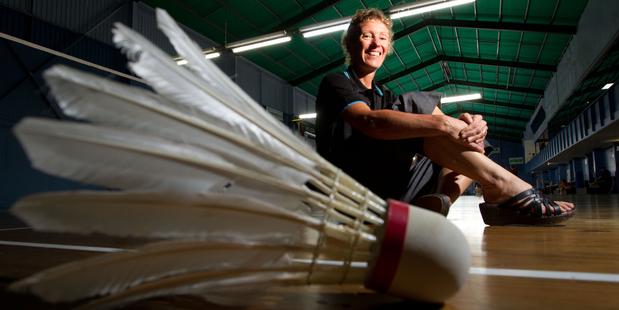 """Badminton geek"" Julie Carrel - then Julie Still - was New Zealand's top player 20 years ago. Photo / Richard Robinson"