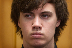 Tristan Barker in the Rotorua District Court. Photo / File / Stephen Parker