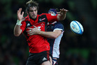 On-fire Crusader Sam Whitelock made Stormer Andries Bekker look silly in Cape Town. Photo / Getty Images