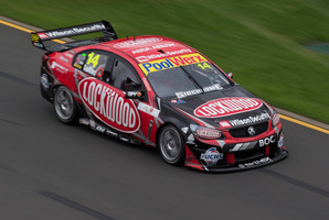 Fabian Coulthard likes the new cars, and is pleased with his form in opening rounds of the V8 Supercars. Photo / Edge Photographics