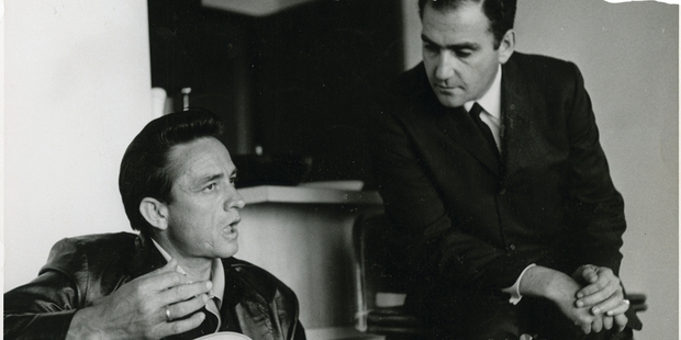 Loading My Father and the Man in Black looks at Jonathan Holiff's search for his unknown dad, Saul, who was Johnny Cash's manager from 1960 to 1973. Photo / Supplied