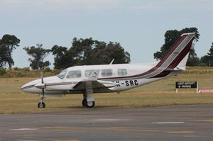 The non-pressurised plane has made 40 percent fewer flights than expected.  Photo / Otago Daily Times