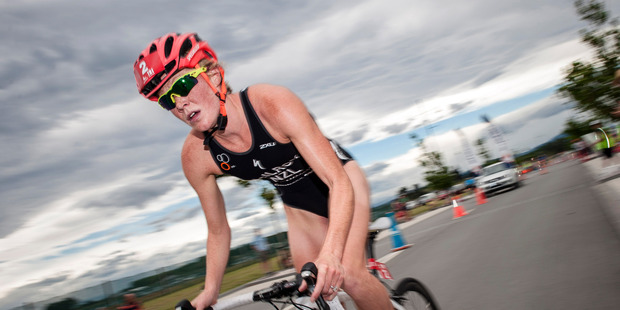 Kiwi triathlete Kate McIlroy. Photo / Mike Heydon