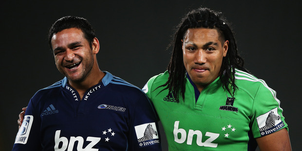 Ma'a Nonu was booed at Eden Park for shoulder charging Piri Weepu. Photo / Getty Images