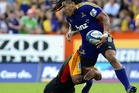 Ma'a Nonu's Super Rugby career has covered three franchises in three seasons, and the Highlanders are waiting for him to fire. Photo / Otago Daily Times