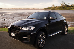BMW's luxury X6 M50d is an exercise in outright overkill. Photo / Ted Baghurst