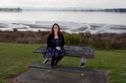 Luanne Sullivan at St Annes Foreshore Reserve. Photo / NZH