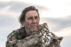 Ciaran Hinds plays Mance Rayder, the King Beyond the Wall. Photo / Supplied