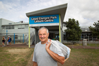 Swimmer Brian Mayall says it is unfair to bring in charges at pools 'built on our rates'. Photo / Richard Robinson