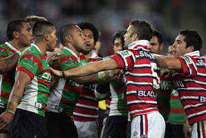 The Rabbitohs and the Roosters have a long-standing rivalry. Photo / Getty Images