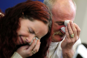 Mick Philpott and wife Mairead. Photo / AP