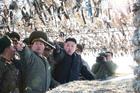 North Korean leader Kim Jong Un is a cartoonist's dream. Photo / AP