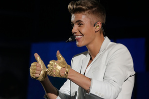 Canadian singer Justin Bieber says he feels in control and doesn't need to address every speculation. Photo / AP