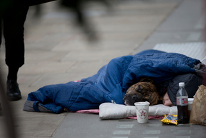 The poor in Britain stand to lose out in the latest welfare cuts defended by Britain's Chancellor, George Osborne. Photo / AP
