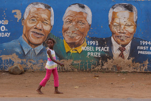 Many South Africans consider Nelson Mandela as the glue that holds the nation together and that his death will see the nation unravel. Photo / AP
