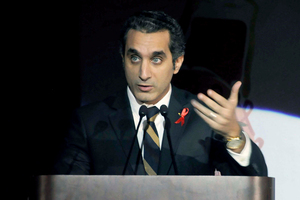 Bassem Youssef. Photo / AP