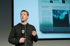 Mark Zuckerberg. Photo / AP