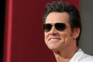 Actor Jim Carrey. Photo / AP