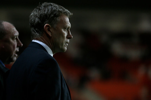 David Moyes insists he has Everton's best interests at heart. Photo / Alastair Grant