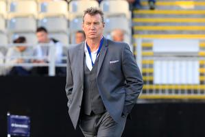 Blues coach Sir John Kirwan. Photo / Richard Robinson