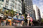 The downtown area will grind to a halt as Auckland hosts a leg of the world triathlon series. Photo / Michael Craig