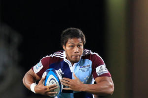 Blues player George Moala. Photo / Richard Robinson
