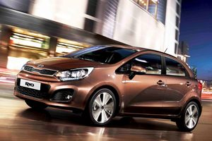 Kia Rio. Photo / Supplied