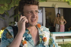 Jason Segel has written a young adult fiction series.Photo / File