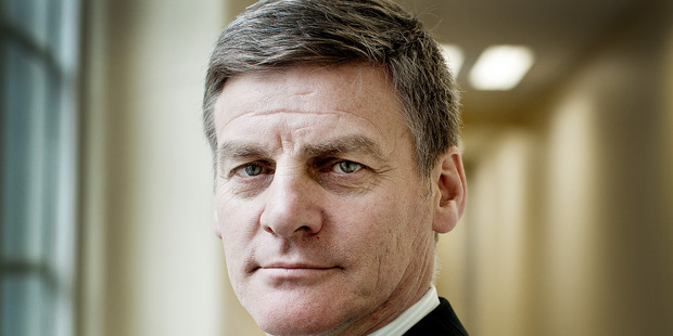 Finance Minister Bill English.  Photo / David White.