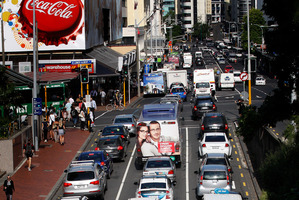 Even with a $59 billion spend, the roads will end up more clogged than now. Photo / Sarah Ivey
