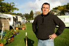 Warren Stott says tensions are high in Mangawhai over the rates. Photo / Janna Dixon