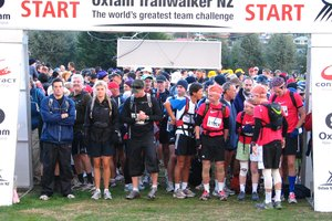 Eager participants prepare to set off on their two-day ordeal.  Photo / Supplied