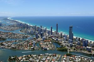 The Gold Coast can mean paradise for more than just surfers. Photo / Getty Images