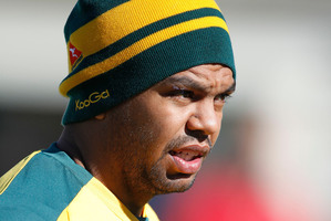 Kurtley Beale should miss out on Wallabies selection against the visiting Britons, former coach Eddie Jones has suggested in a blog. Photo / NZPA