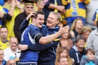 Joe Schmidt has coached Irish club Leinster to two Heineken Cup title. Photo / Getty Images