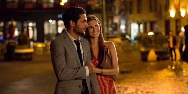 Christopher Abbott as Charlie and Allison Williams as Marnie on Girls. Photo/supplied