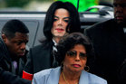Katherine and her son Michael Jackson arriving at court as he prepared to face child molestation charges. Photo/AP
