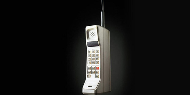 The Motorola DynaTAC 8000x