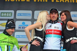 Slovak cyclist Peter Sagan has apologised for pinching the bottom of a flower girl. Photo / Getty Images