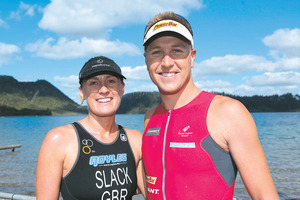 Jacqui Slack and Ben Allen are living their dream of competing around the world. Photo / John Cowpland