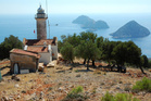 The lighthouse at Gelidonya, one of the highlights of Lycian Way. Photo / Thinkstock