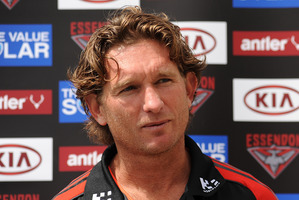 James Hird. Photo / Getty Images