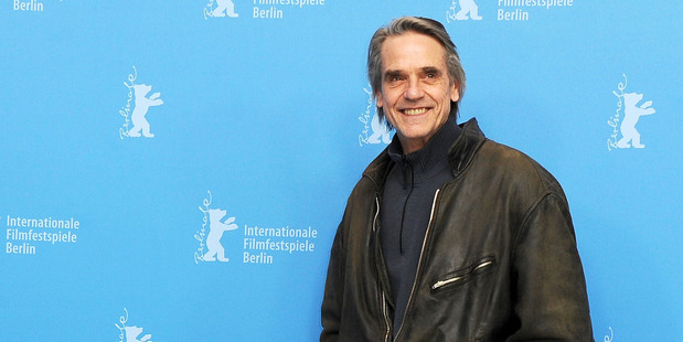 Actor Jeremy Irons has written an open letter to his fans about his comments on gay marriage. Photo / Getty Images