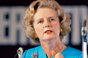 A 1975 file photo of, Margaret Thatcher, who has died at the age of 87. Photo / AP