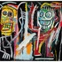 "This image released by Christie's auction house shows a Jean-Michel Basquiat painting titled ""Dustheads"" that could sell for as much as $35 million. Photo / AP"