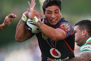 Kevin Locke of the Warriors. Photo / Getty Images.