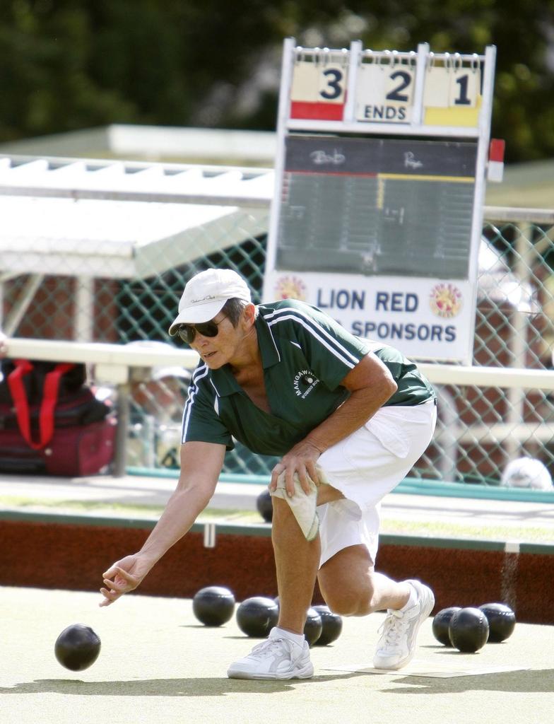 Jane Mander Bowls Tournament, Whangarei Bowling Club.