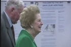 "Former prime minister Margaret Thatcher, the controversial ""Iron Lady"" who shaped a generation of British politics, died following a stroke on Monday at the age of 87, her spokesman said."